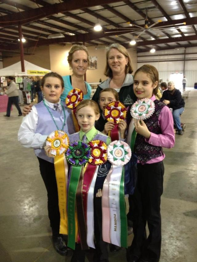Trinity Farm Show Riders All Winners!